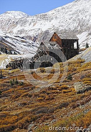 Old rustic mine