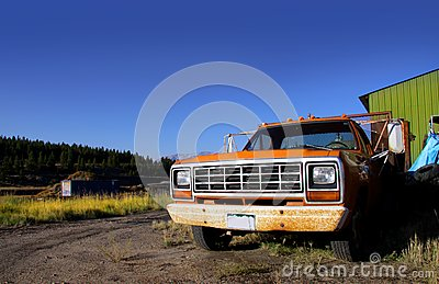 Old Rustic Truck Stock Photo - Image: 14953920