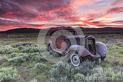 Old Rustic Vehicle Editorial Image