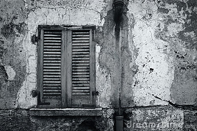Old rustic wall