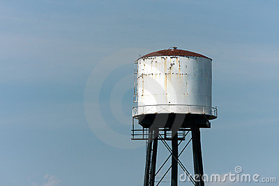 Old Rusting Water Tower