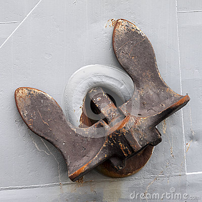 Free Old Rusty Anchor Royalty Free Stock Photos - 43822508