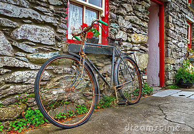 Old rusty bike