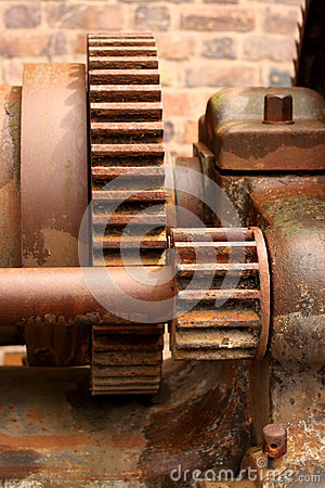 Old rusty cogs