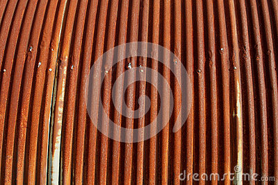 Old Rusty Corrugated Iron Roofing Stock Photo Image