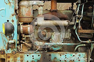 Old rusty diesel