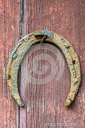 Free Old Rusty Horseshoe Royalty Free Stock Image - 61218746
