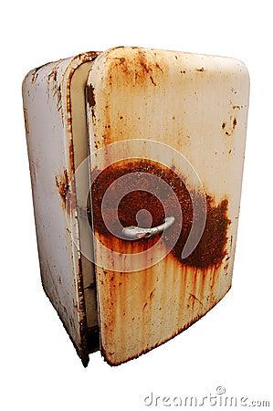 Free Old Rusty Refrigerator Stock Photos - 4366553