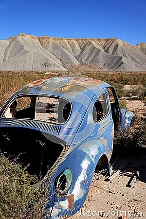 Old rusty volkswagen