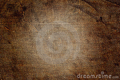 Old sack cloth background