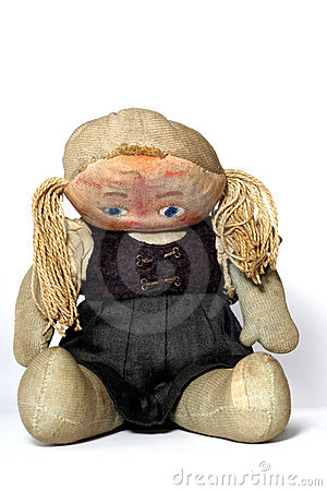 Free Old Sad Cloth Doll Royalty Free Stock Photo - 1904125