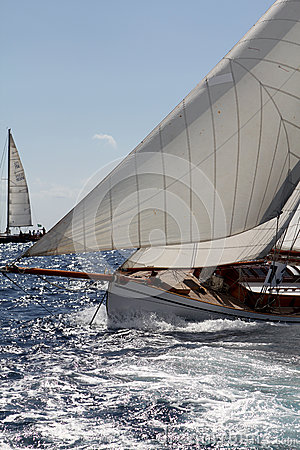 Old sailing boat Editorial Image