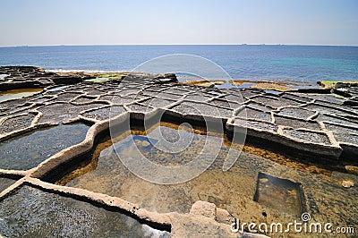 Old salt ponds