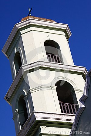 Old San Juan - Historic Colonial Church Bell Tower