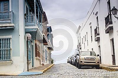 Old San Juan, Puerto Rico Editorial Image