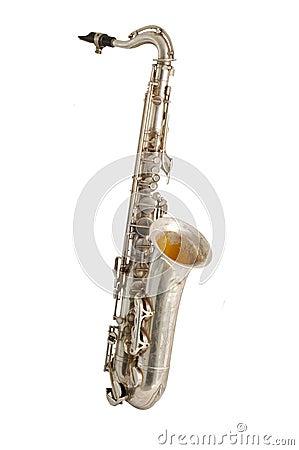 Free Old Saxophone Royalty Free Stock Image - 3866366