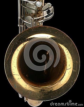 Old Saxophone Detail