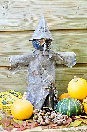 Old scarecrow