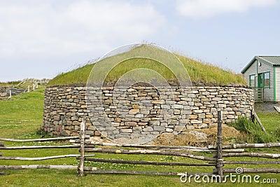 Old Scatness ruins, Shetland