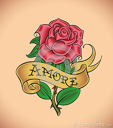 Old-school rose - Amore