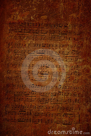 Free Old Score Royalty Free Stock Images - 19204839
