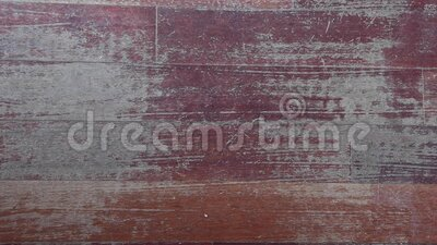 Old scratched hardwood flooring in need of maintenance stock video footage
