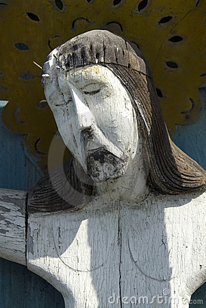 Free Old Sculpture Of  Jesus Christ Stock Photo - 16547360
