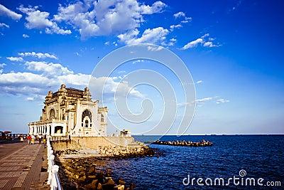 Old sea-side palace