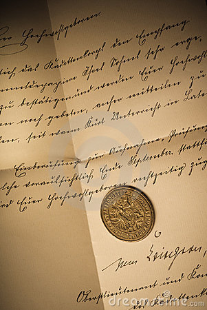 Free Old Seal Stock Photo - 21018260