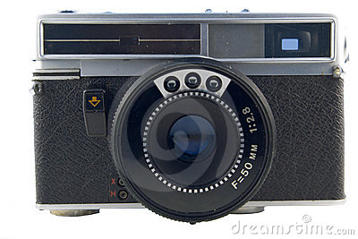 Old Semi-automatic Rangefinder Stock Photo - Image: 3055100