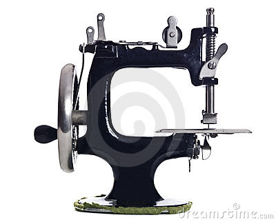 Old Sewing Machine Stock Images - Image: 13087414