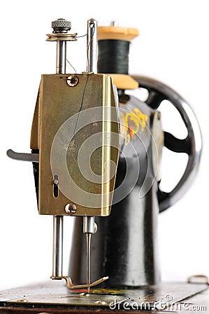 Free Old Sewing Machine Royalty Free Stock Image - 5850736