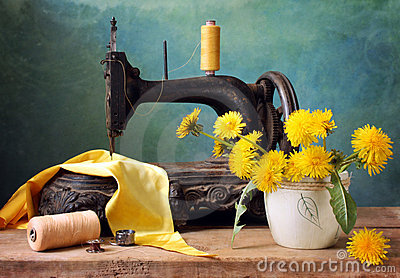 Old sewing-machine