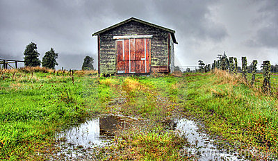 Old Shack in the Mountains