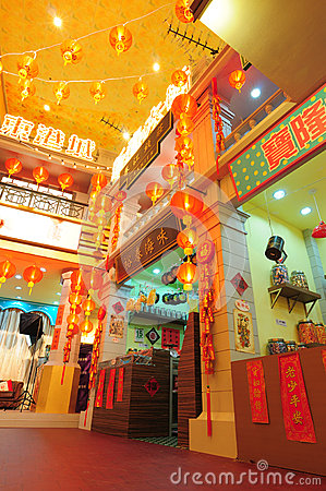Old Shanghai stores Editorial Photography