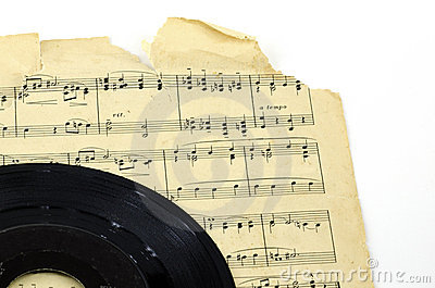 Old Sheet Music Record Deal