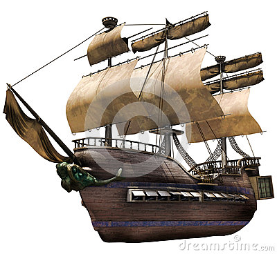Free Old Ship Stock Images - 46293644