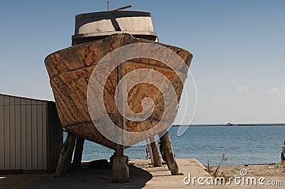 Old ship repair