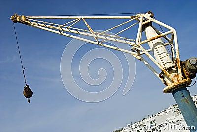Old Shipping Crane Puerto Del Carmen,Lanzarote