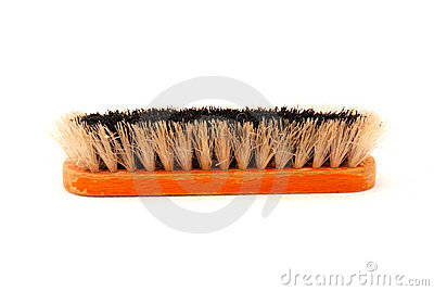 Old shoe brush