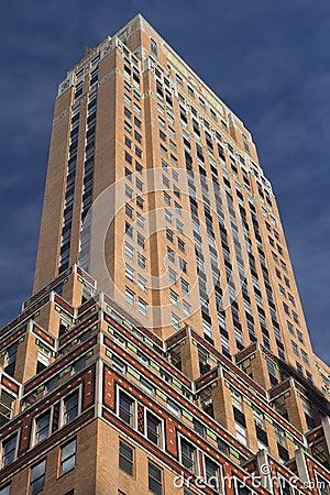 Old skyscraper on Manhattan