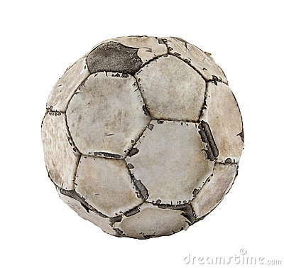 Free Old Soccer Ball Royalty Free Stock Photos - 20190808
