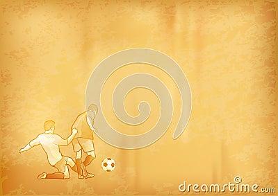 Old soccer paper