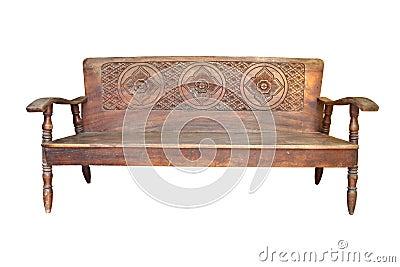 Old sofa wood