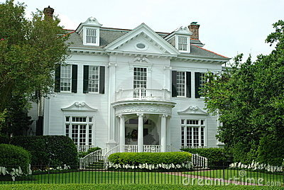 Old Southern Mansion