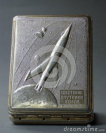 Old soviet  cigarette box