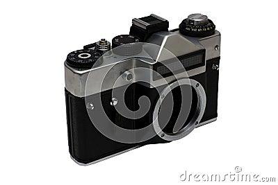 The old Soviet film camera