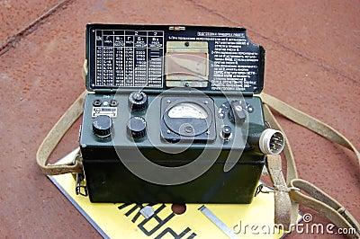 Old Soviet military radiometer