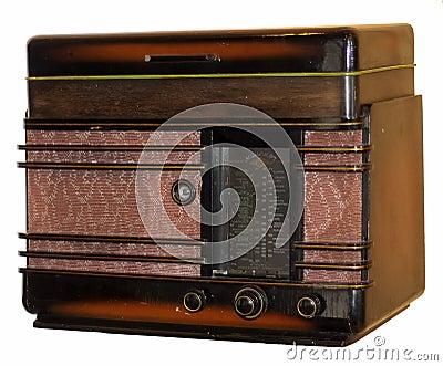 Old Soviet radio-gramophone