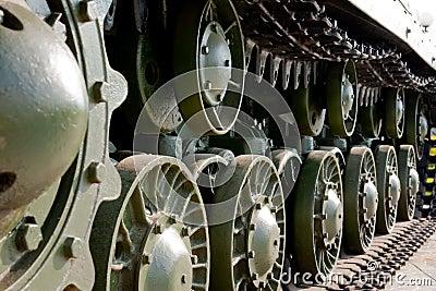 Old soviet tank